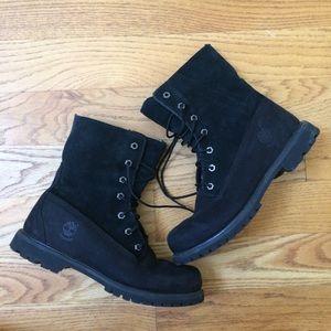 Timberland Teddy Fleece Nubuck boots women's 9